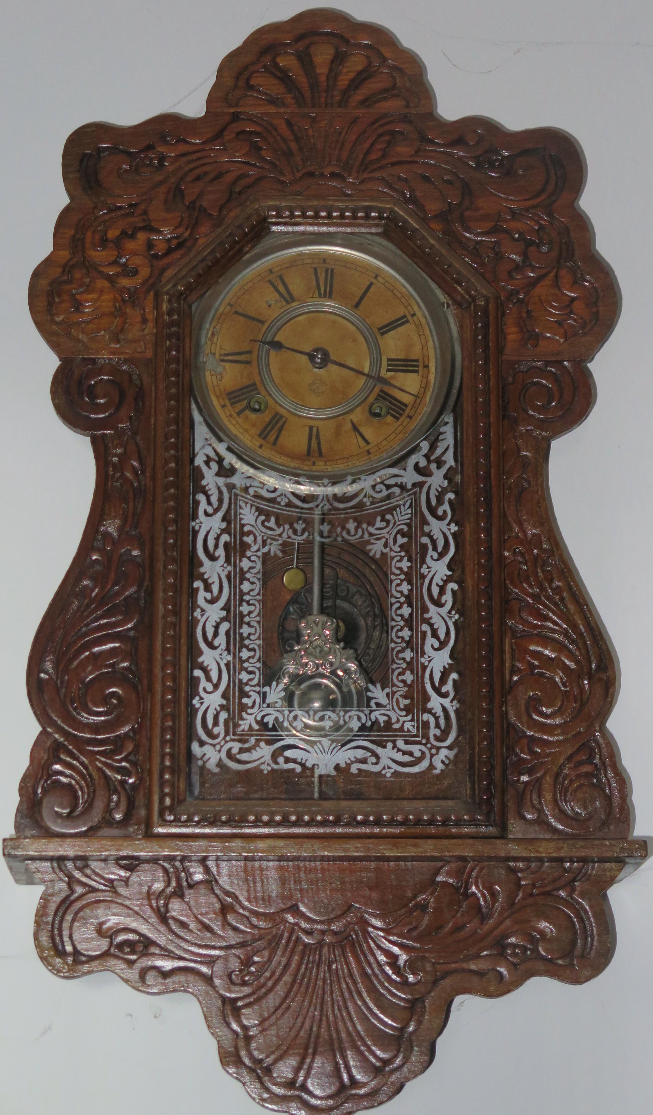 d3e6b2ae416 Relógio americano produzido pela Ansonia